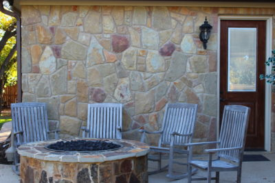 Firepit / chairs
