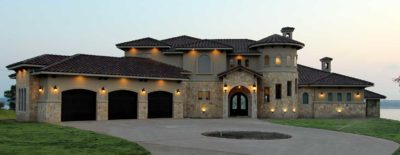 front drive exterior parade of homes